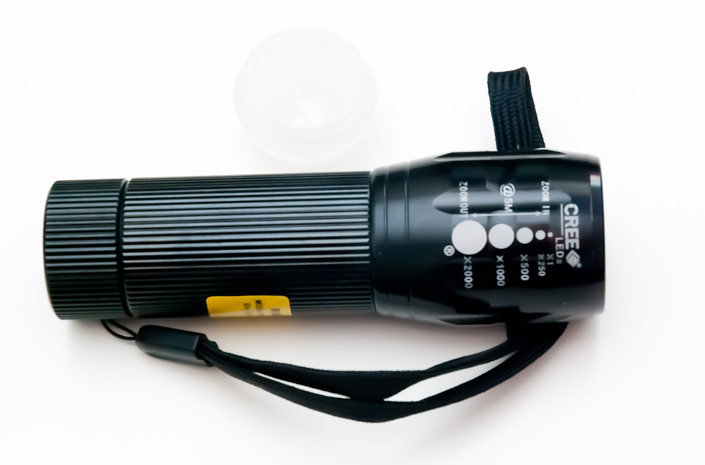 ALDI Lightway 5 Watt Cree Taschenlampe